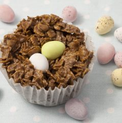 chocolate and toffee treats; Easter recipe