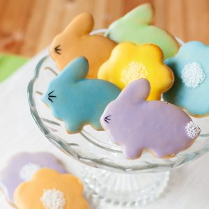 easter bunny biscuits; easter recipe; i love cooking recipe