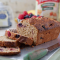 Banana & berry oaty bread