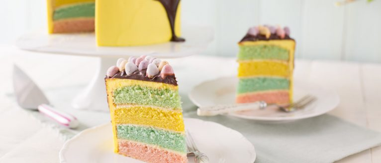 Rainbow Cake Kids Cook Club