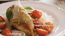 Creamy Pesto Chicken recipe