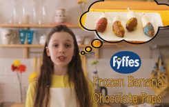 Fyffes Frozen Chocolate Banana Popsicles